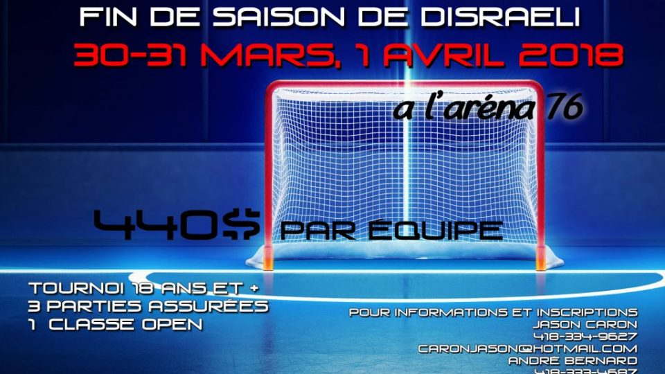 Tournoi Avril 2018