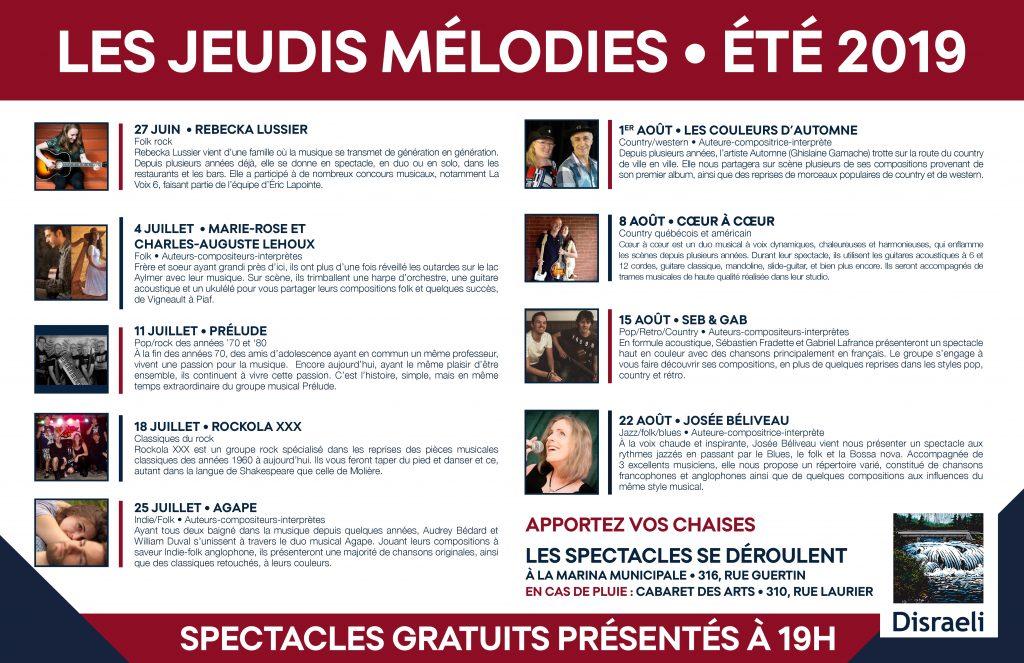 Les Jeudis mélodies