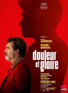 Le Cinéma du lac présente DOULEUR ET GLOIRE de Pedro Almodovar