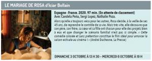 Cinéma du lac présente LE MARIAGE DE ROSA d'Iciar Bollain