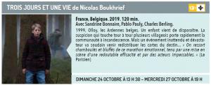 Cinéma du lac présente TROIS JOURS ET UNE VIE de Nicolas Boukhrief